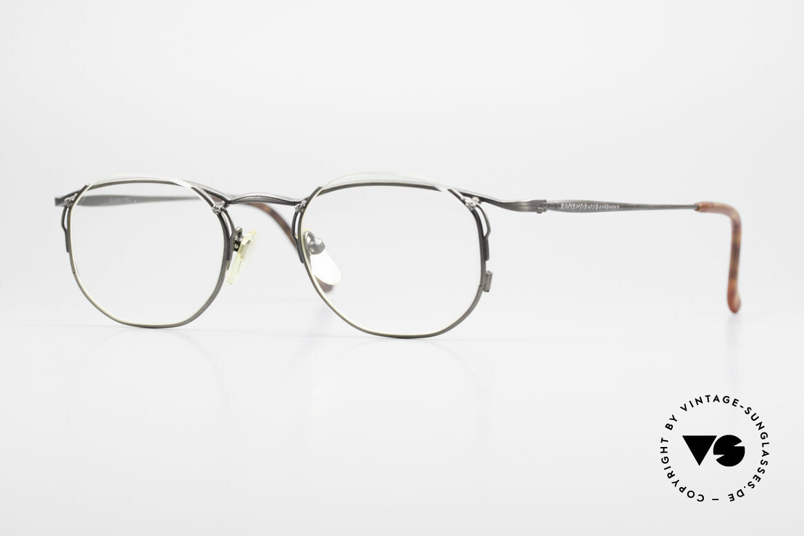 Matsuda 2856 Außergewöhnliche 90er Brille, vintage Matsuda Brillenfassung aus den 1990ern, Passend für Herren und Damen