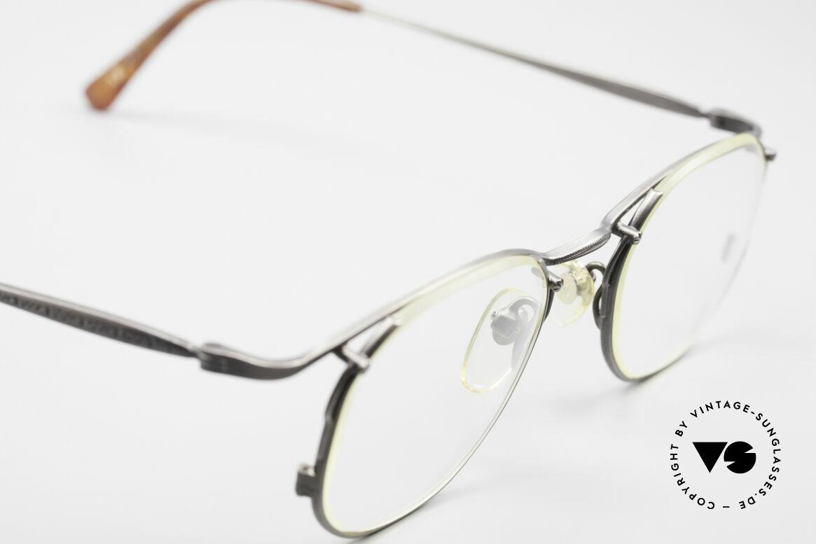 Matsuda 2856 Außergewöhnliche 90er Brille, seltenes, 20 Jahre altes Einzelstück, KEIN RETRO, Passend für Herren und Damen