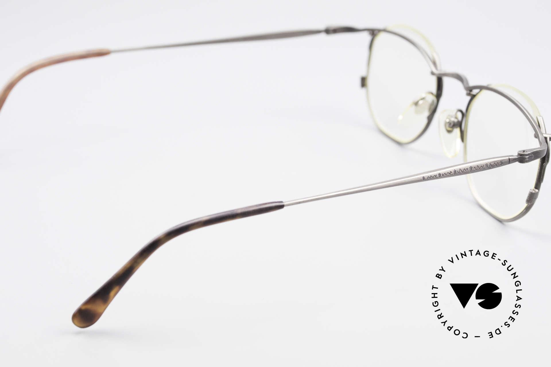 Matsuda 2856 Außergewöhnliche 90er Brille, Demos sind beliebig ersetzbar (optisch od. Sonne), Passend für Herren und Damen