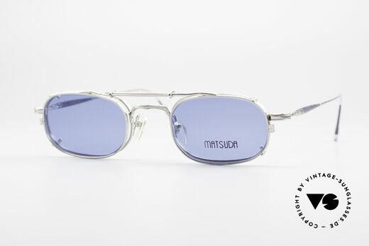 Matsuda 10108 Steampunk Sonnenbrille 90er Details