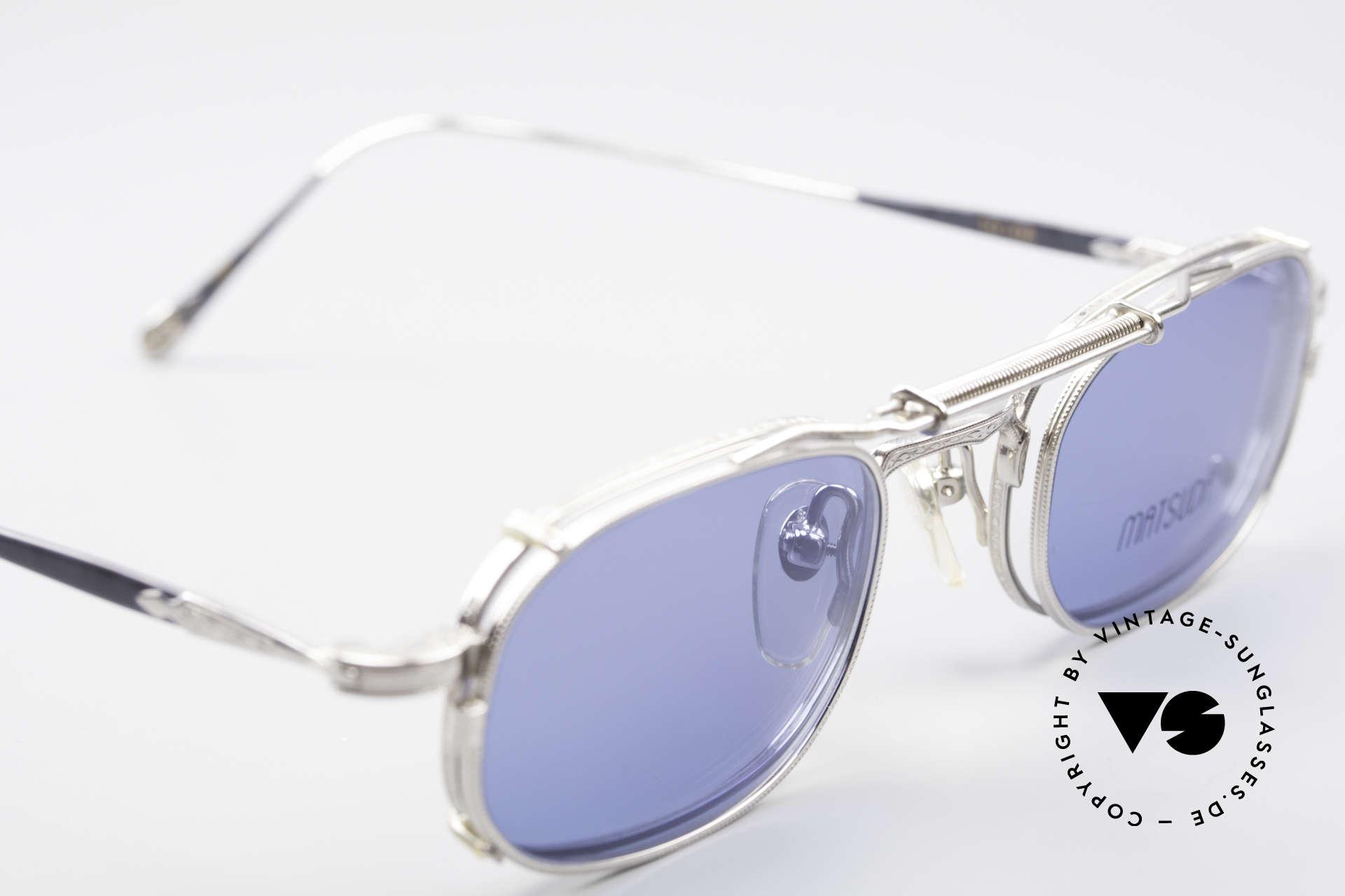 """Matsuda 10108 Steampunk Sonnenbrille 90er, (im Science-Fiction-Klassiker """"Terminator 2"""" von 1991), Passend für Herren"""
