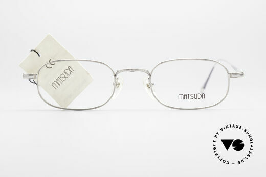 Matsuda 10108 Steampunk Sonnenbrille 90er, Größe: medium, Passend für Herren