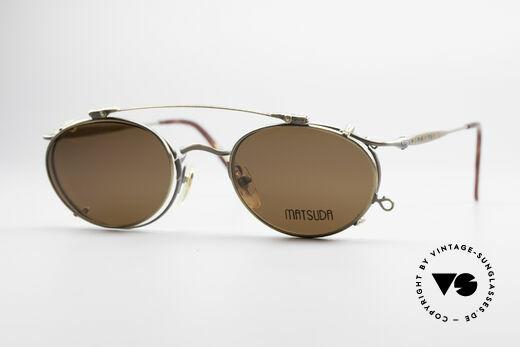 Matsuda 2853 Steampunk Vintage Brille Details