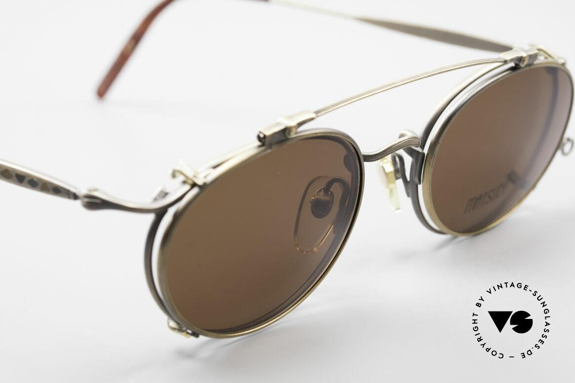 Matsuda 2853 Steampunk Vintage Brille, passend dazu trug Sarah Connor eine MATSUDA Brille, Passend für Herren