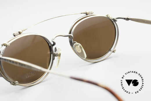 """Matsuda 2853 Steampunk Vintage Brille, (im Science-Fiction-Klassiker """"Terminator 2"""" von 1991), Passend für Herren"""
