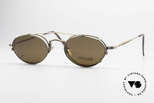 Matsuda 10102 Steampunk Vintage Brille Details