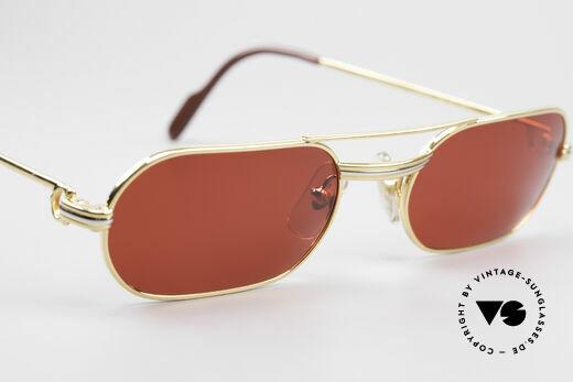 Cartier MUST LC - M 3D Rot Luxus Sonnenbrille