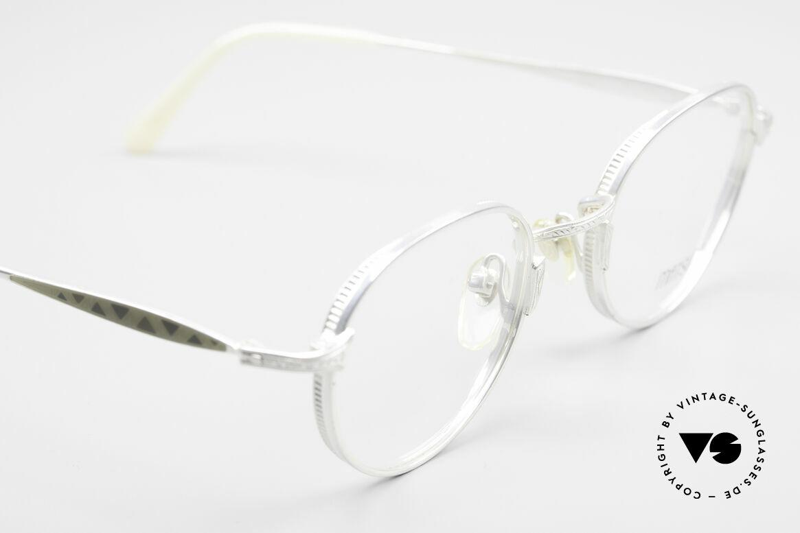 Matsuda 2858 Runde Vintage Designer Brille, wahre Handwerkskunst (made in Japan), die Zeit kostet, Passend für Herren und Damen