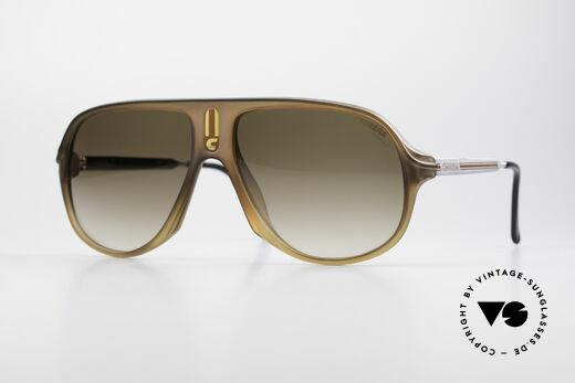 Carrera 5547 Alte 80er Vintage Sonnenbrille Details