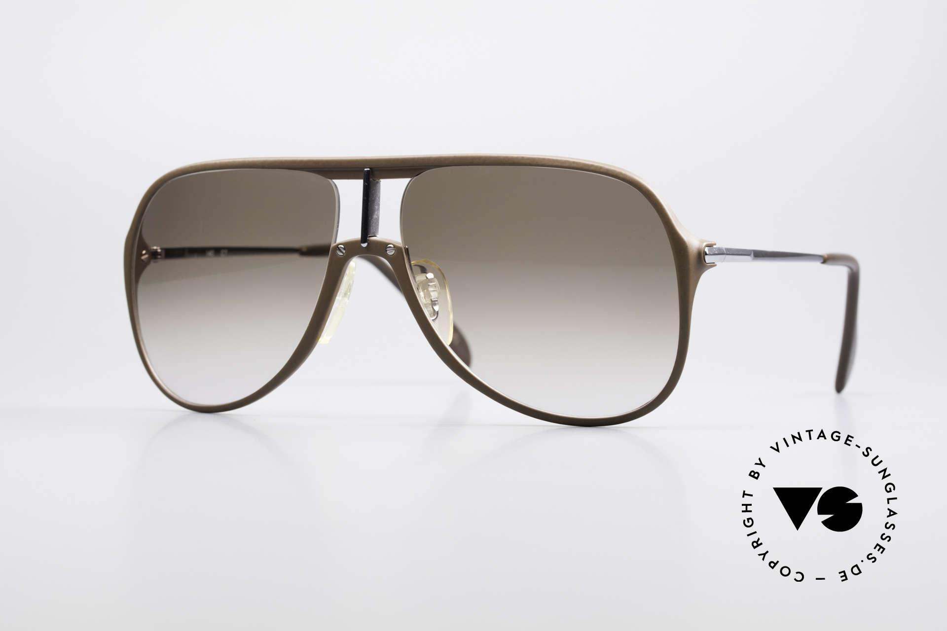 Menrad 727 80er Sonnenbrille Herren, stylisch elegante vintage Sonnenbrille von MENRAD, Passend für Herren