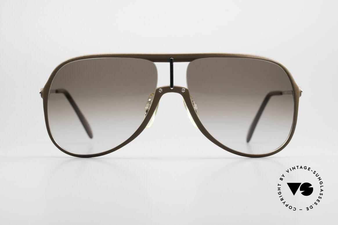 Menrad 727 80er Sonnenbrille Herren, sachliches Herrenmodell von 1982, made in Germany, Passend für Herren