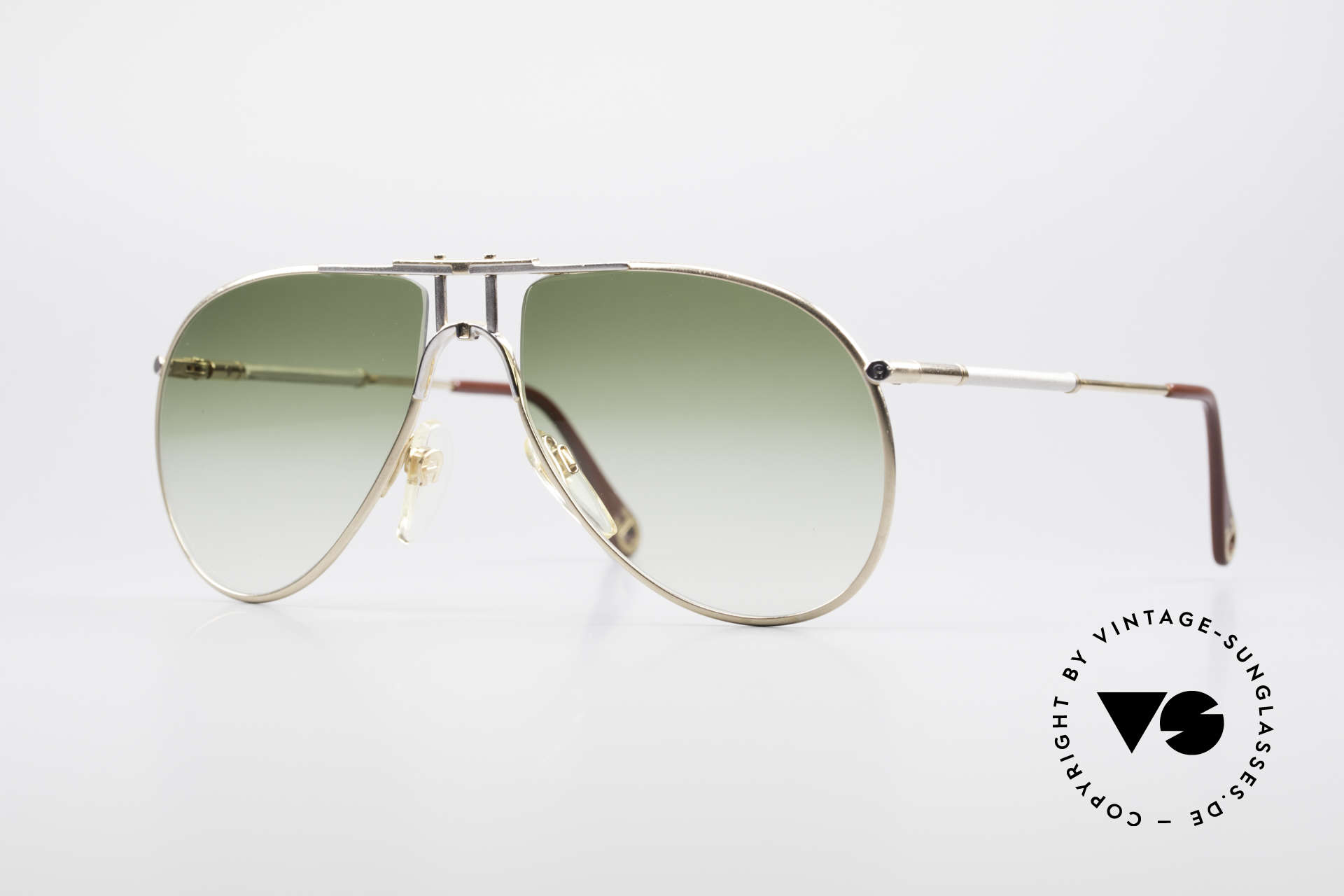Sonnenbrillen Aigner EA4 80er Luxus Sonnenbrille Herren