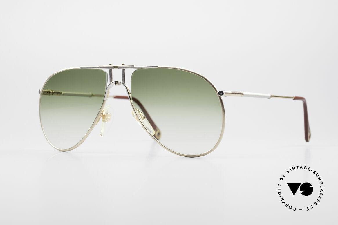 Aigner EA4 80er Luxus Sonnenbrille Herren, Etienne Aigner 80er VINTAGE Designer-Sonnenbrille, Passend für Herren