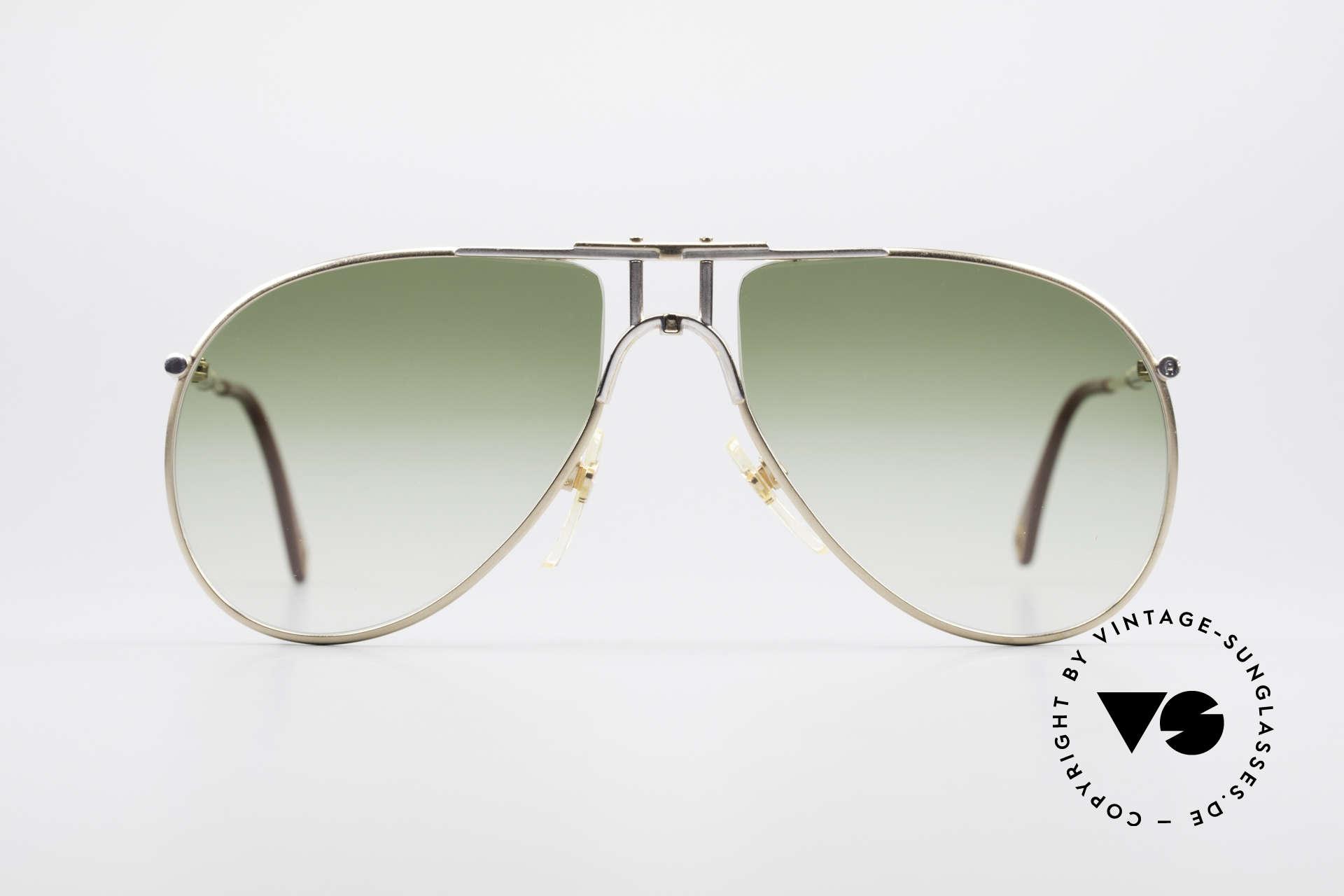 Aigner EA4 80er Luxus Sonnenbrille Herren, nobel modifizierte Pilotenform in elegantem Farbton, Passend für Herren