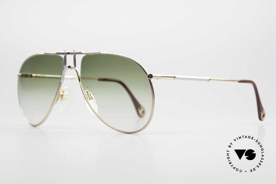 Aigner EA4 80er Luxus Sonnenbrille Herren, wahre Gentleman-Sonnenbrille; kostbar und selten!!, Passend für Herren