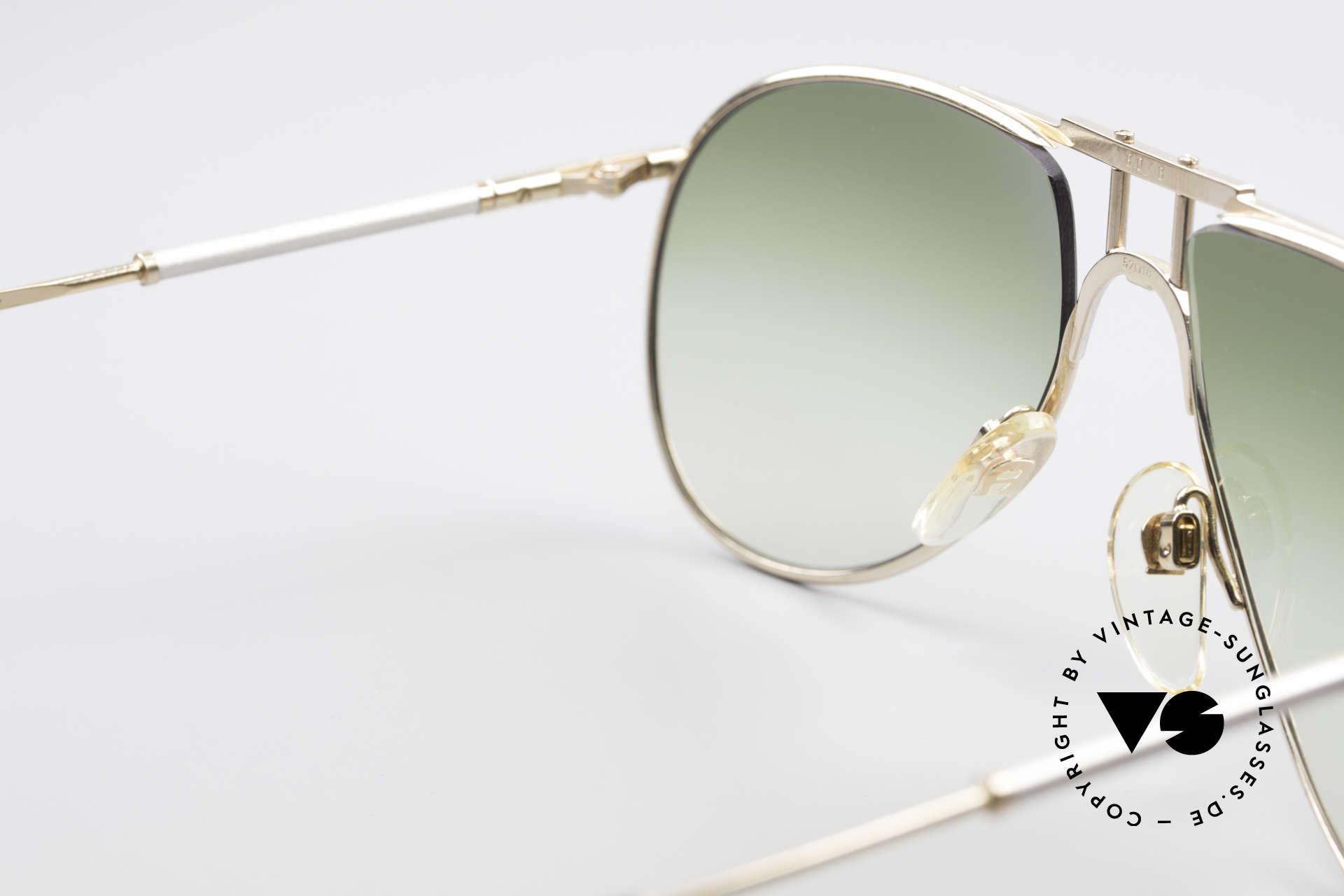 Aigner EA4 80er Luxus Sonnenbrille Herren, ungetragen (wie alle unsere seltenen Aigner Brillen), Passend für Herren