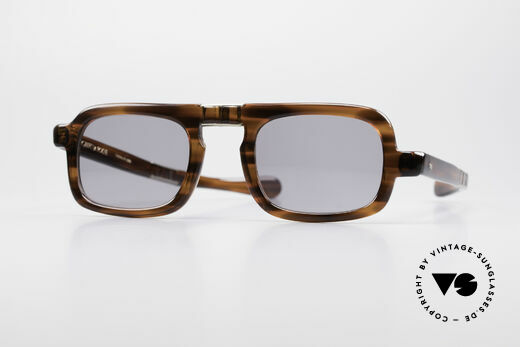 Robert La Roche 15 Rare 70er Falt-Sonnenbrille Details