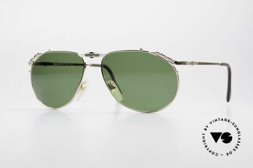 Morgan Motors 803 Oldtimer Sonnenbrille 80er Details