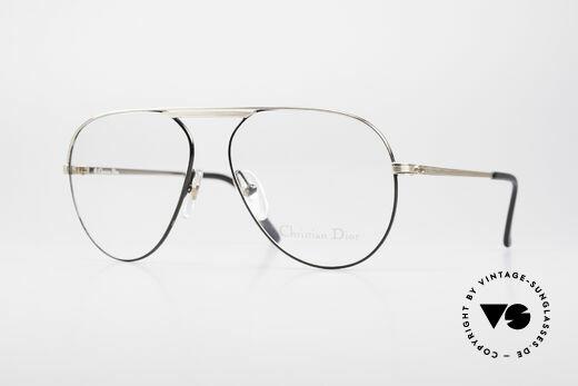 Christian Dior 2536 Vintage Aviator Brille Herren Details