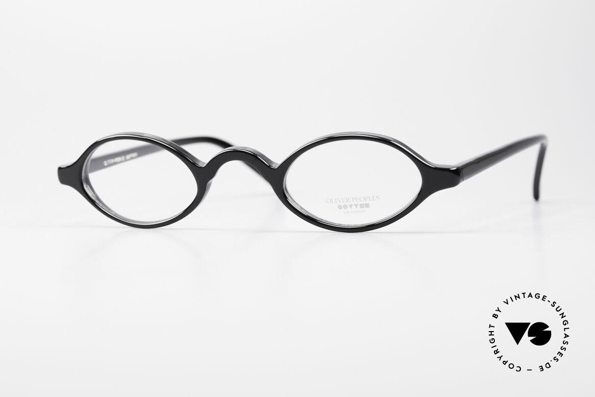 Oliver Peoples Skat Kleine Ovale Designer Brille, vintage Oliver Peoples Designerbrille der späten 90er, Passend für Herren und Damen
