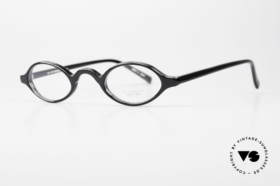 Oliver Peoples Skat Kleine Ovale Designer Brille, zeitlos in Farbe und Form, in SMALL Größe 41-26, 143, Passend für Herren und Damen