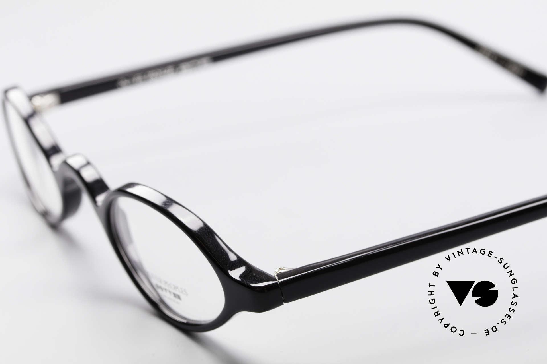 Oliver Peoples Skat Kleine Ovale Designer Brille, ungetragenes O. Peoples Einzelstück (made in Japan), Passend für Herren und Damen