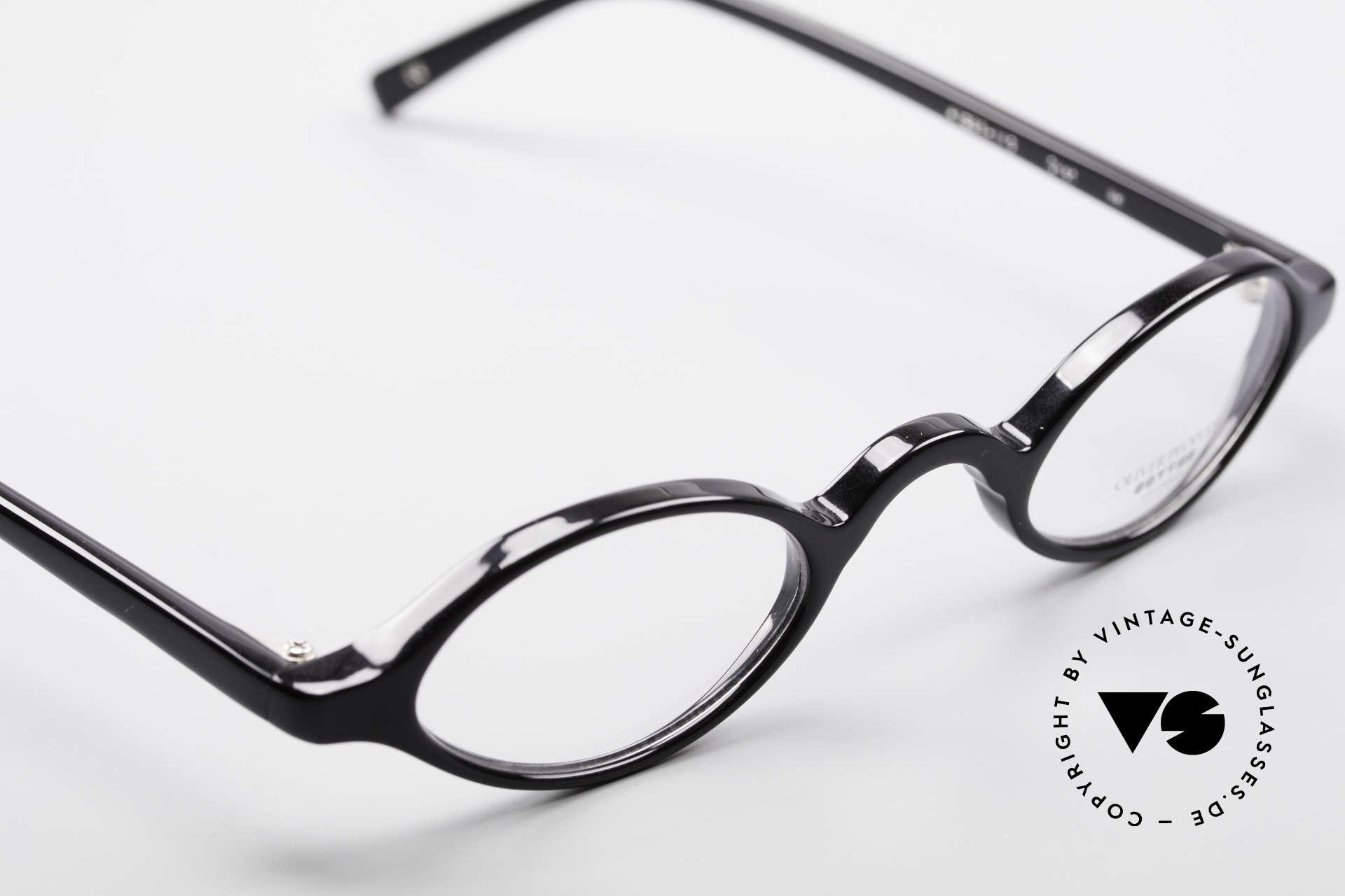 Oliver Peoples Skat Kleine Ovale Designer Brille, KEINE Retrobrille, sondern ein 20 Jahre altes Original, Passend für Herren und Damen