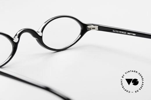 Oliver Peoples Skat Kleine Ovale Designer Brille, Qualitätsfassung kann beliebig optisch verglast werden, Passend für Herren und Damen
