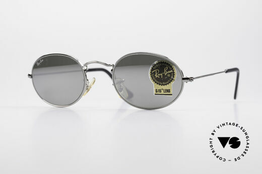 Ray Ban Classic Style I USA Sonnenbrille Verspiegelt Details