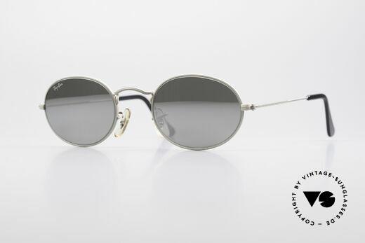Ray Ban Classic Style I Sonnenbrille Silber Verspiegelt Details