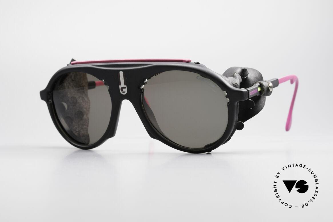 Carrera 5436 Water & Ice Gletscher Brille, vintage Sportbrille bzw. Gletscherbrille von CARRERA, Passend für Herren und Damen