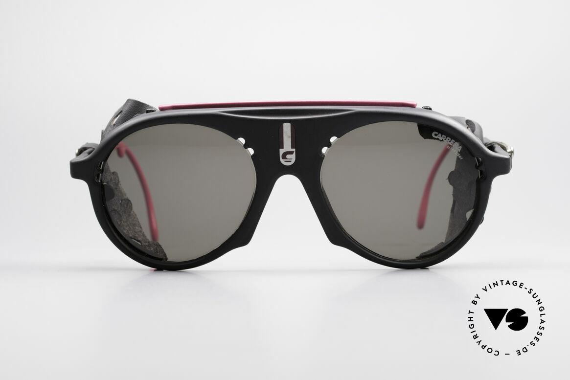 Carrera 5436 Water & Ice Gletscher Brille, konzipiert für den hochalpinen Einsatz & Wassersport, Passend für Herren und Damen