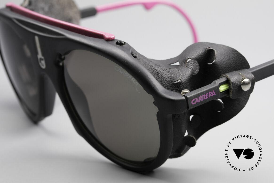 Carrera 5436 Water & Ice Gletscher Brille, hochwertige ULTRASIGHT Gläser (100% UV Protection), Passend für Herren und Damen