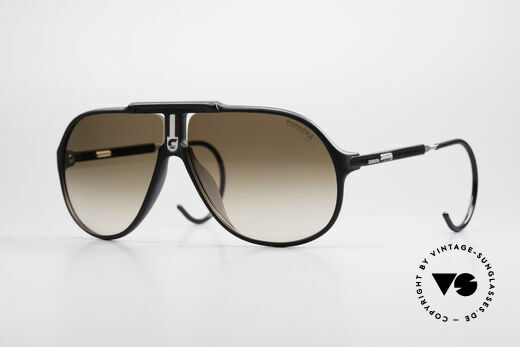 Carrera 5590 Vario Sport Sonnenbrille 80er Details
