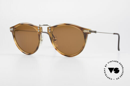 BOSS 5152 - L Large Panto Sonnenbrille 90er Details