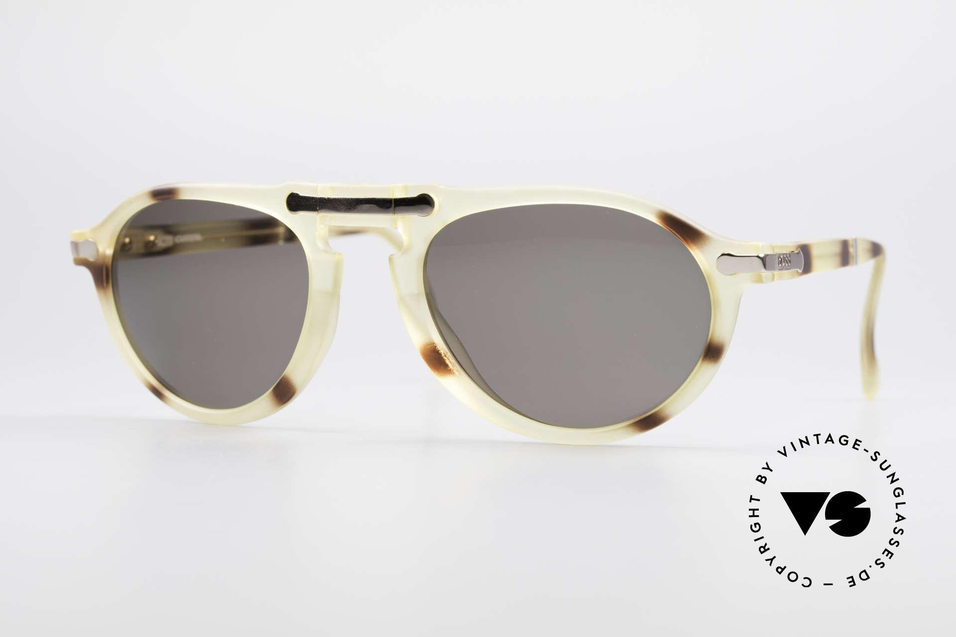 BOSS 5153 Vintage Faltsonnenbrille 90er, geniale BOSS vintage Faltsonnenbrille, Top-Qualität, Passend für Herren