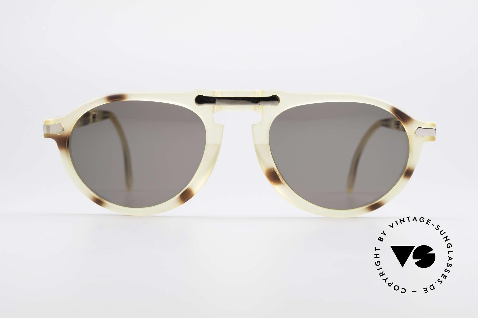 BOSS 5153 Vintage Faltsonnenbrille 90er, Kooperation von BOSS & Carrera in den 90er Jahren, Passend für Herren
