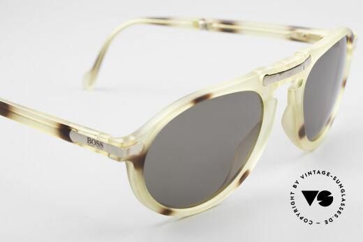 BOSS 5153 Vintage Faltsonnenbrille 90er, KEINE RETRO-Sonnenbrille; ein zeitloser Klassiker!!, Passend für Herren
