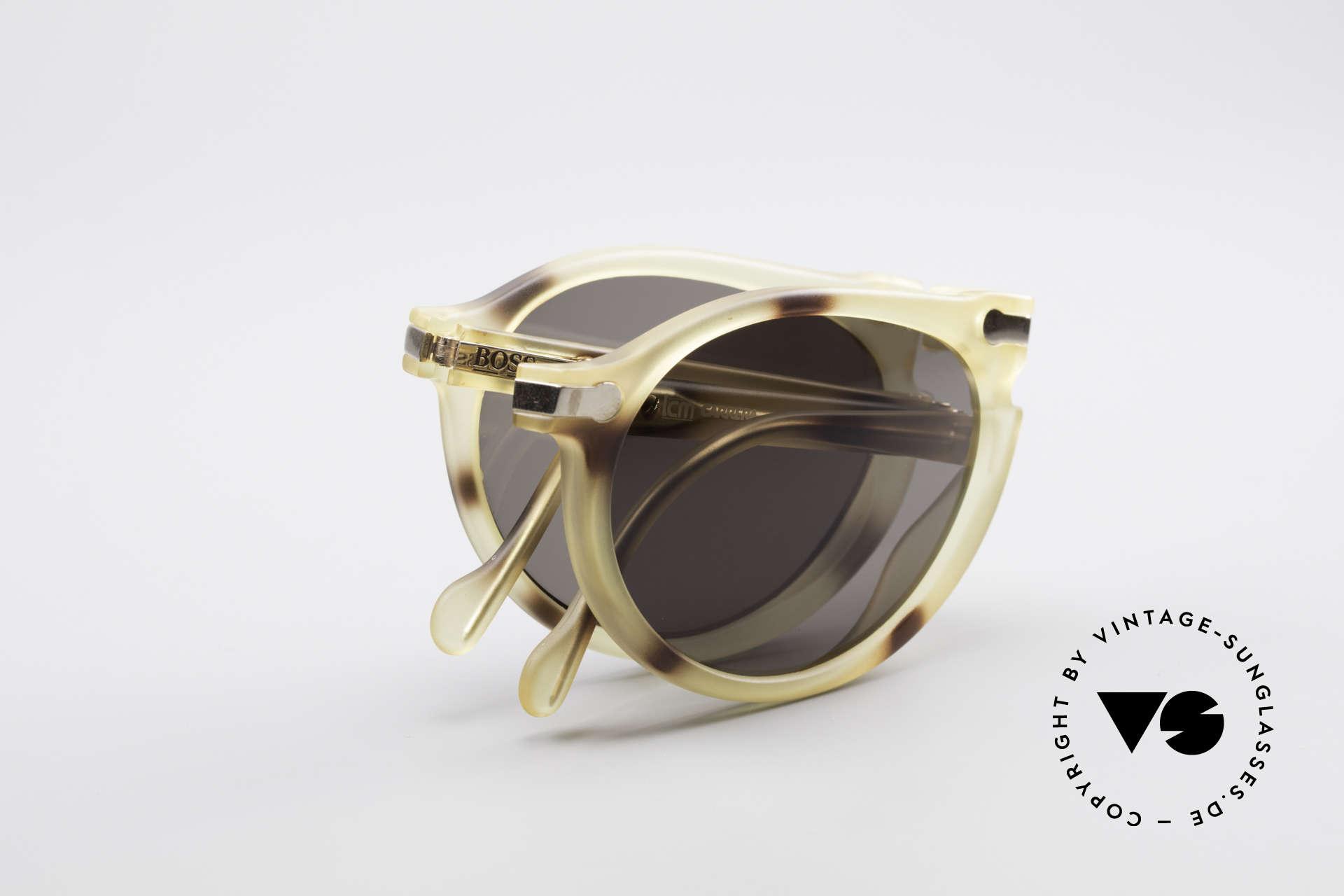BOSS 5153 Vintage Faltsonnenbrille 90er, Größe: large, Passend für Herren