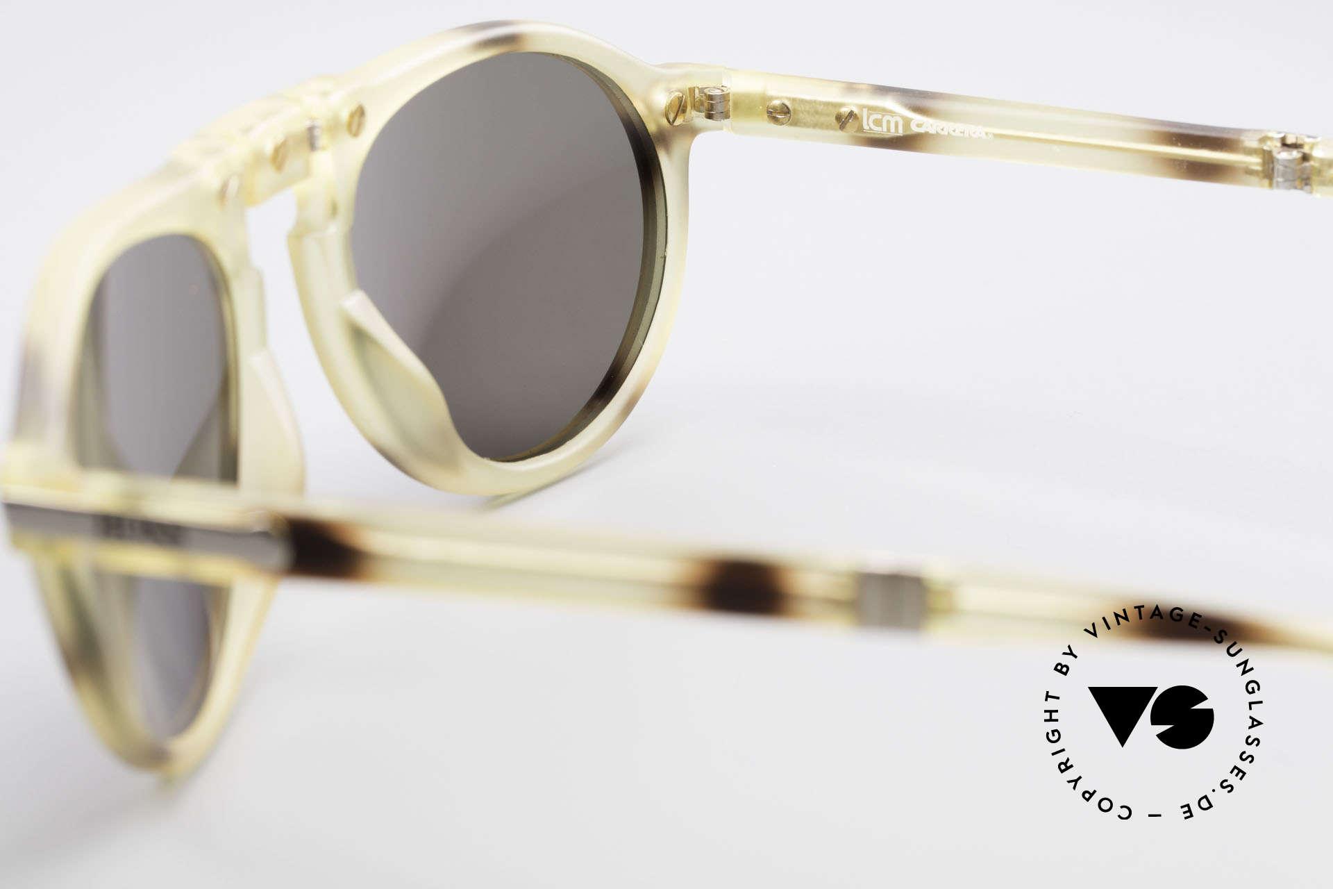 BOSS 5153 Vintage Faltsonnenbrille 90er, ungetragenes Designerstück inkl. original BOSS Etui, Passend für Herren