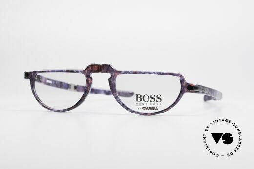 BOSS 5103 Vintage Falt Lesebrille 90er Details
