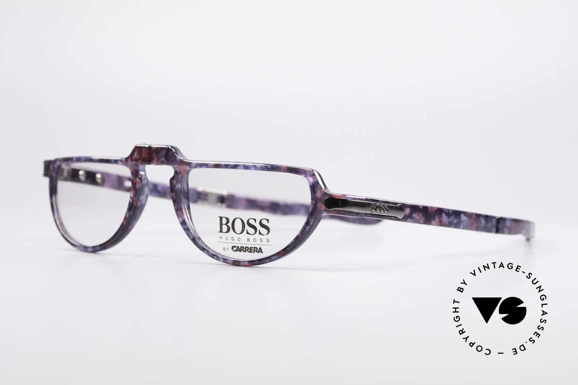 BOSS 5103 Vintage Falt Lesebrille 90er, Rahmen aus enorm hochwertigem OPTYL-Kunststoff, Passend für Herren und Damen