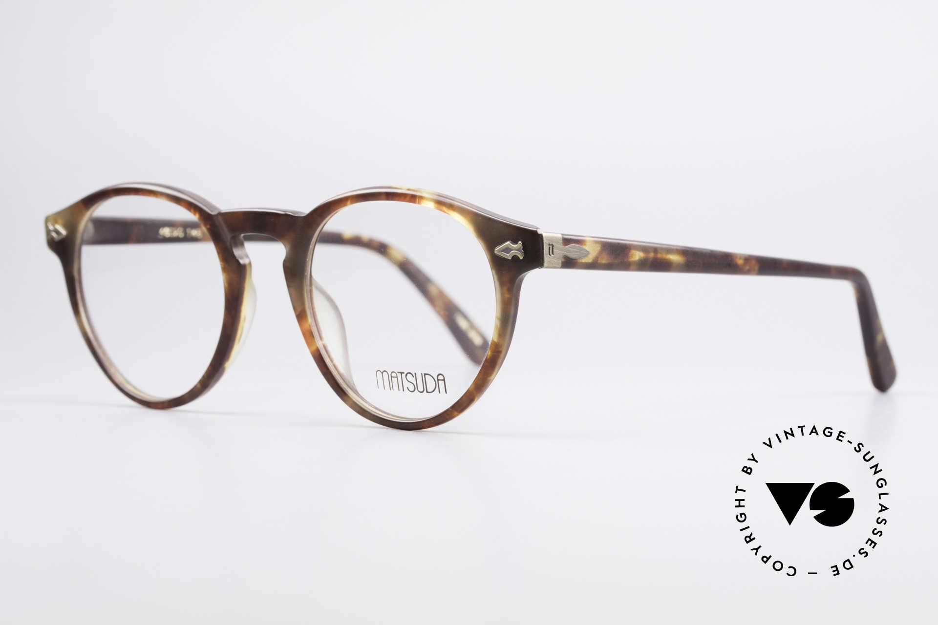 Matsuda 2303 Panto Vintage Designerbrille, ein Klassiker in Farbe und Form, medium Gr. 46/20, Passend für Herren und Damen