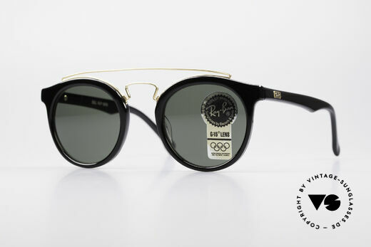 Ray Ban Gatsby Style 4 Bausch Lomb B&L USA Brille Details