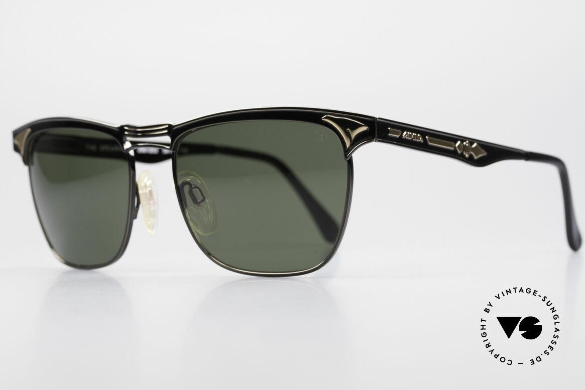 Alpina THE SPEARHEAD No Retro Sonnenbrille 90er, ein zeitloser Alpina Klassiker mit 100% UV Schutz, Passend für Herren und Damen