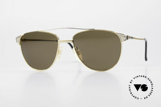 Alpina THE SHERIFF Alte Aviator Sonnenbrille 90er Details
