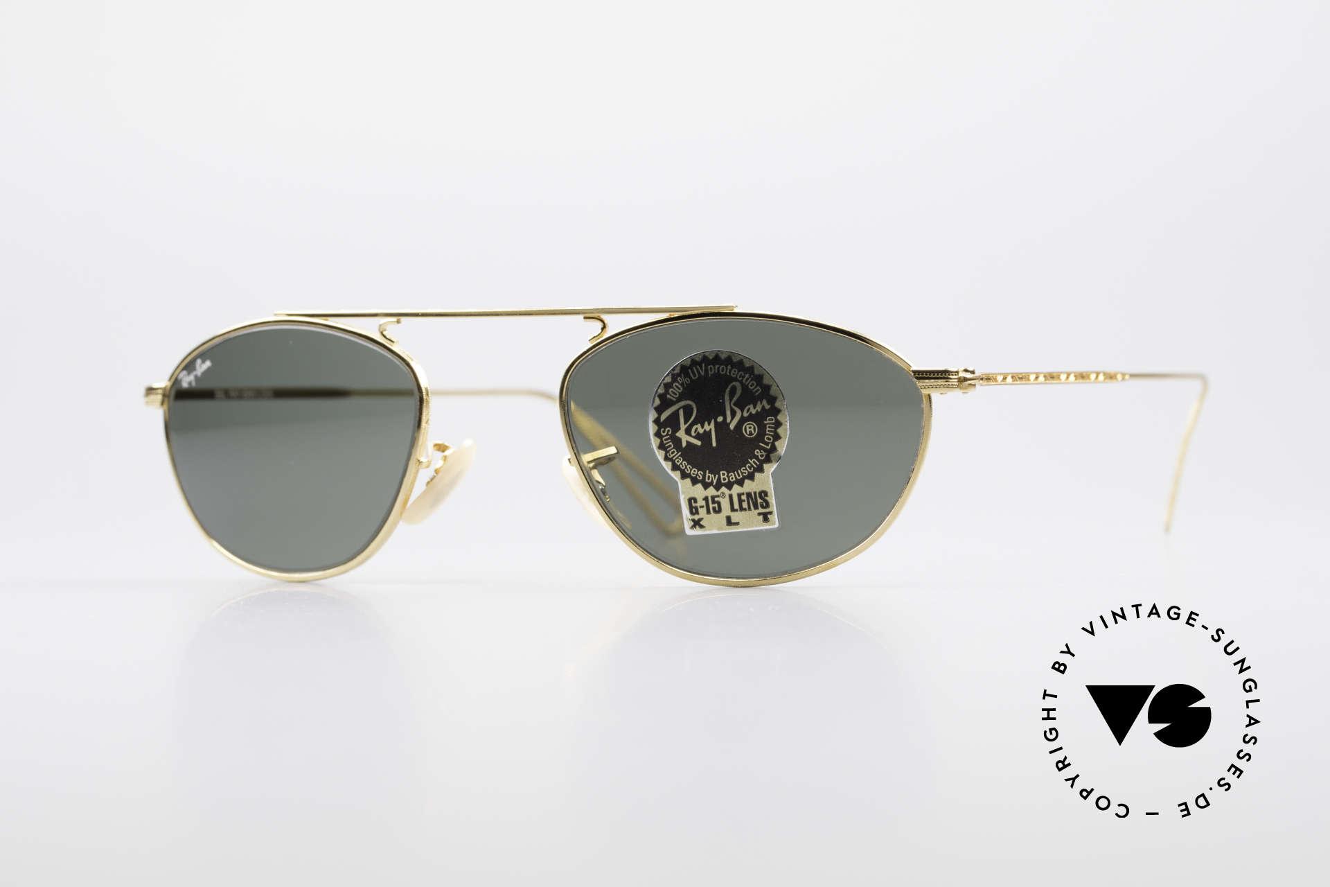 Details zu Alte Vintage Ray Ban Sonnenbrille im Etui
