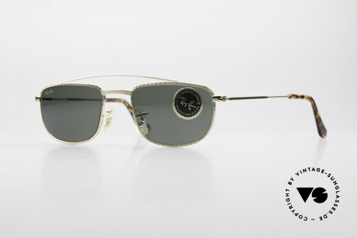Ray Ban 1940's Retro Rectangle Alte USA Ray-Ban Bausch&Lomb Details
