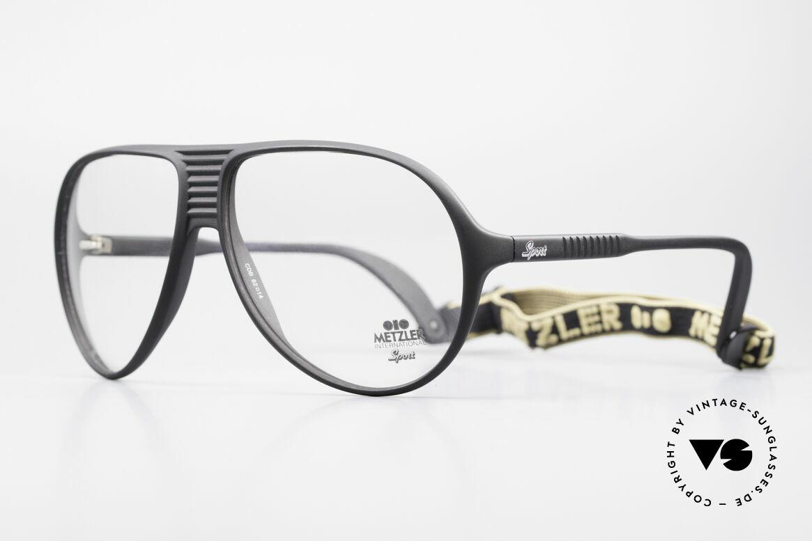 Metzler 0102 80er Sportbrille Kein Retro