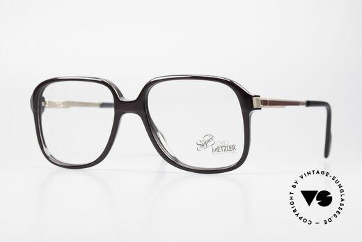 VertrauenswüRdig Marwitz Brillengestell Fassung Kunststoff Ham Gr 48-20 Vintage Um 1960